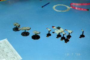For some reason, every game we play tends to disintegrate into a closeup brawl.