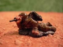 This is a simple conversion done with a Dixon ninja and a spare early 40K backpack.