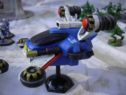 Cobalt Grav Car