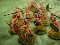 Naked fanatics. These are very fun and quick to paint.
