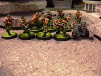 But maybe not these guys... initial traitor salvo has the brave marines fall back.
