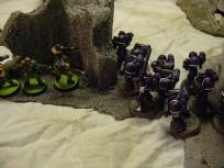 One traitor squad taken care of, squad Beta prepares to tackle another.
