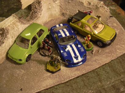 Toy Cars for 28mm
