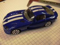 1:43 Dodge Viper by Burago