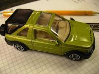 1:43 Land Rover Freelander by Burago.