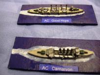 Carnarvon and Cradock's flagship, Good Hope.