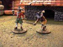These two are from the Redoubt Three Musketeers line.