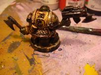 The ork's back. Basing work is still not done.