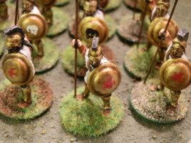 Finally finished my last hoplites.