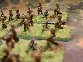 The recoilless rifles aiming to tickle enemy armor.