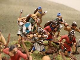 Saxon warriors.