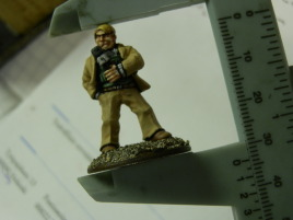 28mm figures? Well, maybe to the eye if you ignore the base.