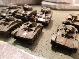 These are quite cute, though the T-70 was definitely a better tank.