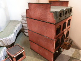 These are actually pretty nice, but also more involved to build than your typical shoebox MDF buildings.
