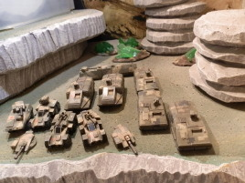 More vehicles for Zaporoskiye Brigade and Broglie's Legion.