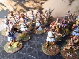 Old WGF ancient skirmishers. Very generic figures.